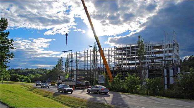 Industrins husbyggnadsinvesteringar på femårslägsta. Foto: Harald Holm