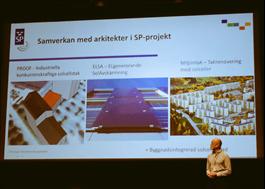 SP i samarbete med arkitekter