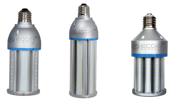 Miljövänlig LED för utohusbelysning