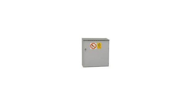 Korrosionståligt gasskåp för utomhusbruk