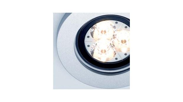 Spolsäker LED-downlight för badrum