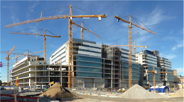 Nya Karolinska Solna. Foto Harald Holm