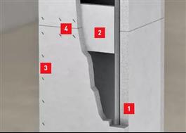 1) Aestuver-skiva. 2) Spikkloss. 3-4) Skjutklammer