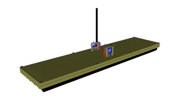 Flytbrygga för tömning av båtens septiktank