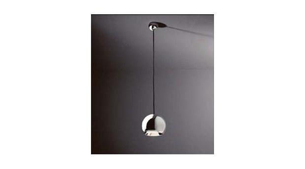 Sfärisk pendelarmatur med LED