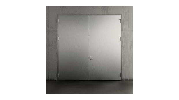 Rostfria dörrar för aggressiva miljöer